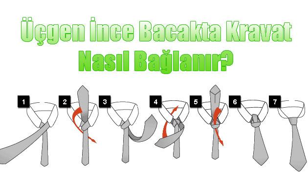 Kravat Nasıl Bağlanır?, Kravat Nasıl Takılır?, Kravat Bağlama Resimli Anlatım